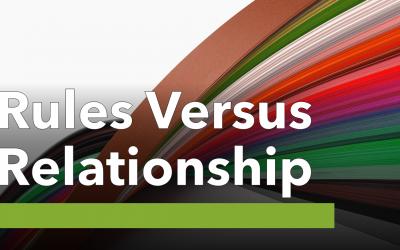 001 TruthTrek Rules Versus Relationship