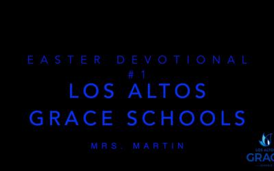 003 Easter 2020 Mrs. Martin Why did Jesus Die?
