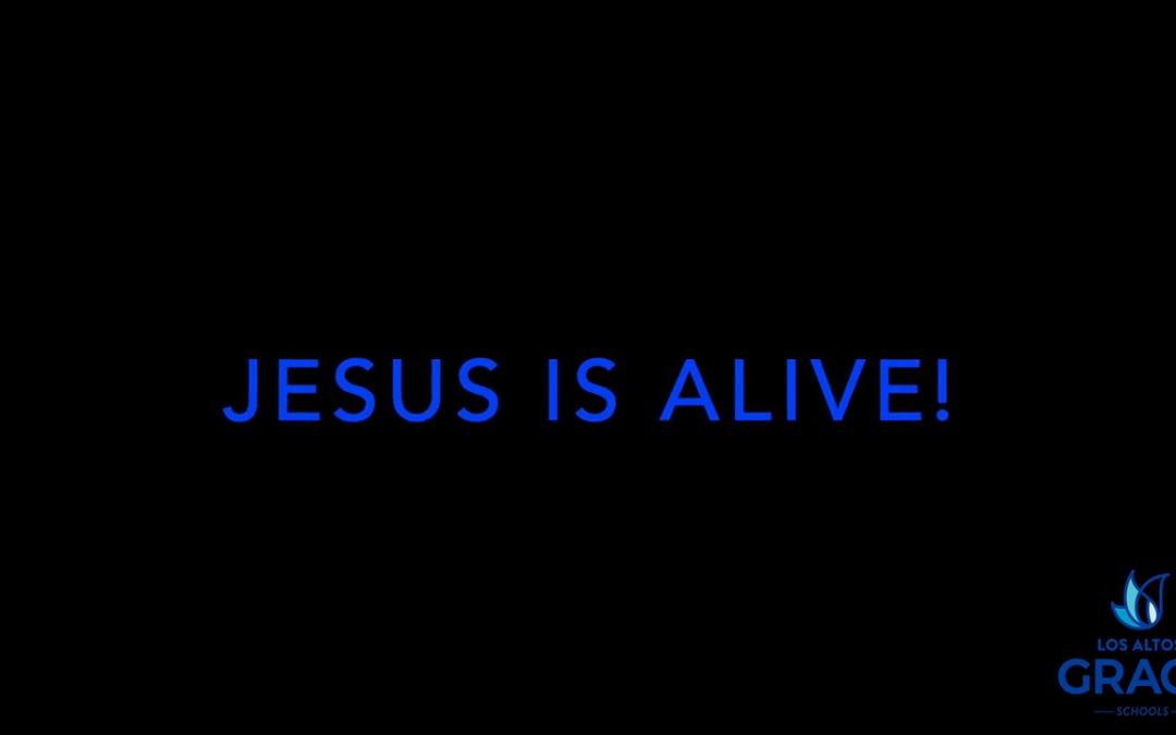 006 Easter 2020 Mrs Martin Jesus is Alive!
